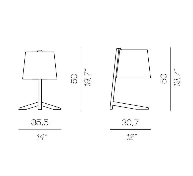 Couture new daniele lo scalzo moscheri lampe a poser table lamp  contardi acam 002755  design signed nedgis 87177 product