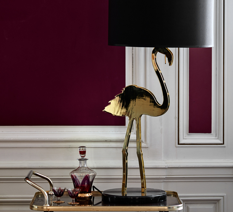 Crazy flamingo  lampe a poser table lamp  design by us 21220  design signed 53847 product