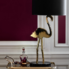 Crazy flamingo  lampe a poser table lamp  design by us 21220  design signed 53847 thumb