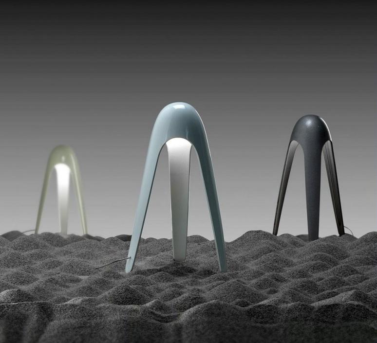 Cyborg karim rashid martinelli luce 825 al luminaire lighting design signed 23740 product