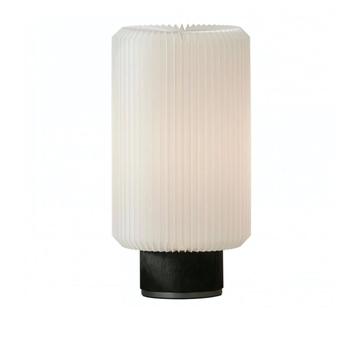 Lampe a poser cylinder medium noir l20cm h37cm le klint normal