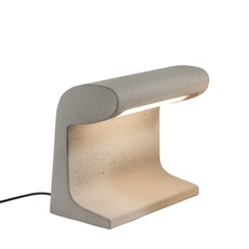 Borne beton mini charles le corbusier lampe a poser d exterieur outdoor table lamp  nemo lighting bbp ldw 22  design signed 58096 thumb