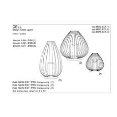Cell matteo ugolini karman m615 ext luminaire lighting design signed 20019 thumb