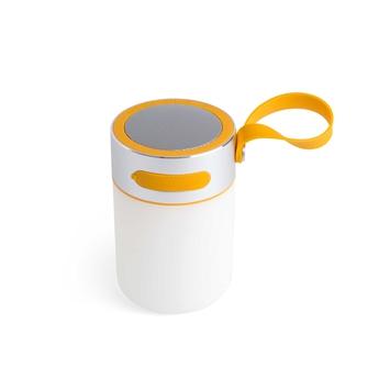 Lampe a poser d exterieur enceinte loud blanc h14 5cm faro normal