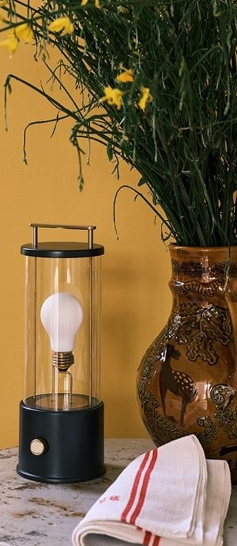 Lampe a poser d exterieur the muse hackles ip44 l13 5cm h33 8cm tala normal