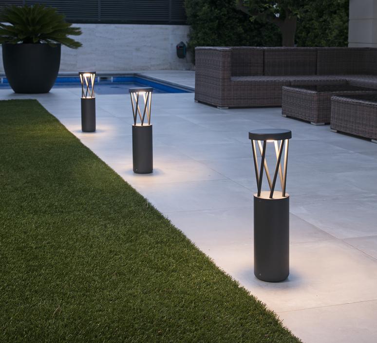 Twist estudi ribaudi lampe a poser d exterieur outdoor table lamp  faro 71287  design signed nedgis 123211 product
