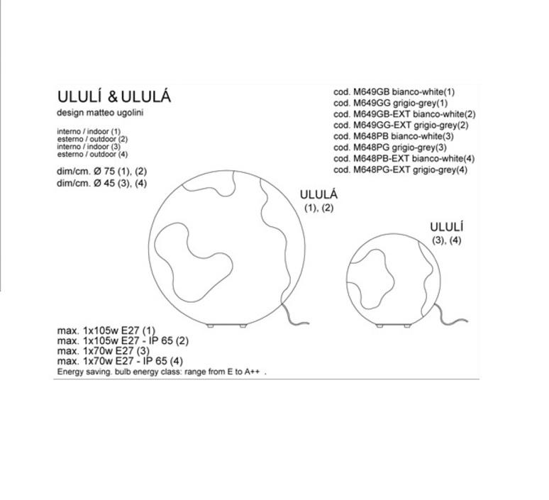 Ululi matteo ugolini karman m648pb ext luminaire lighting design signed 19956 product