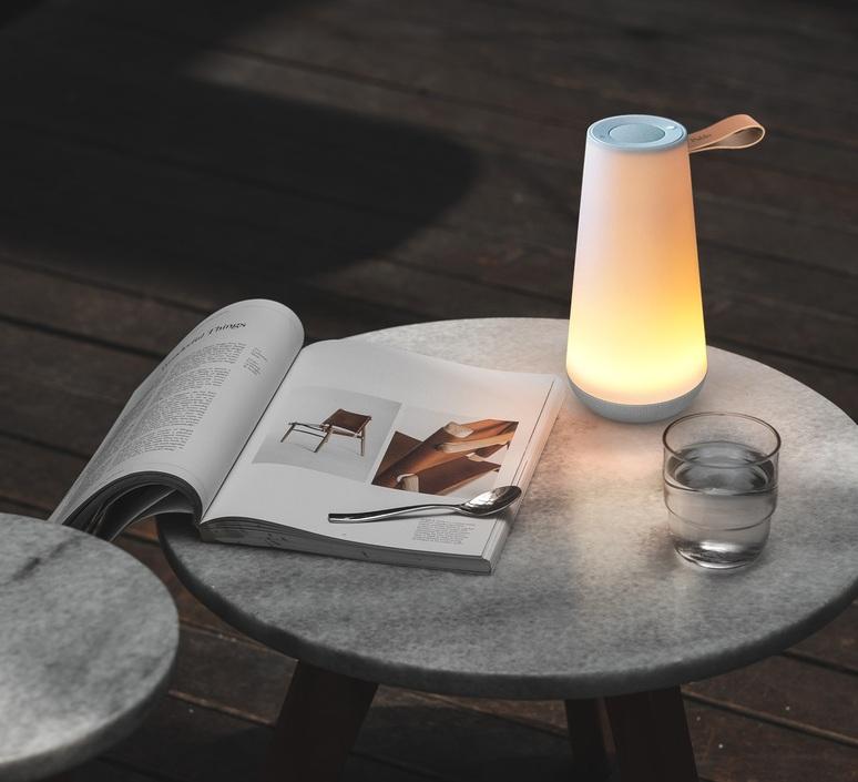 Uma mini sound lantern pablo pardo lampe a poser d exterieur outdoor table lamp  pablo uma100080  design signed nedgis 114036 product