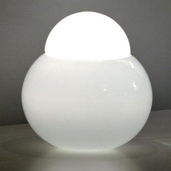 Lampe a poser daruma blanc h17cm fontana arte normal