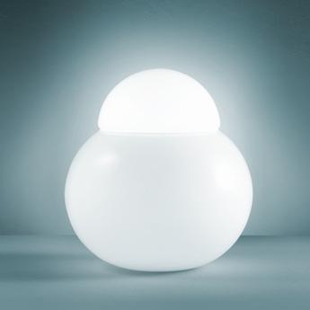 Lampe a poser daruma blanc h29cm fontana arte normal