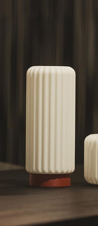 Lampe a poser dentelles h29 terra ip65 o12cm h29cm atelier pierre normal
