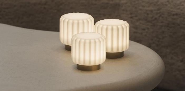 Lampe a poser dentelles h9 or ip65 o9cm h9cm atelier pierre normal