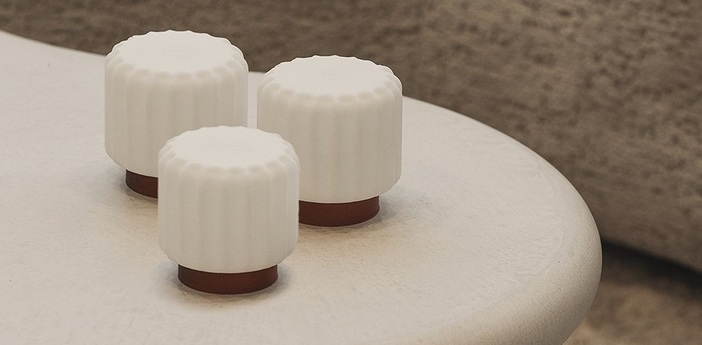 Lampe a poser dentelles h9 terra ip65 o9cm h9cm atelier pierre normal
