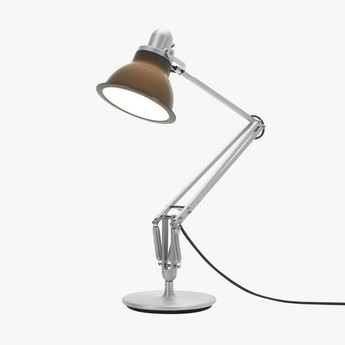 Lampe a poser desk lamp gris granite led o17cm h34 6cm anglepoise normal