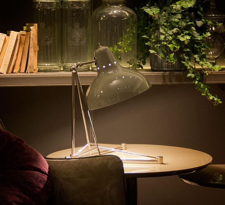 Diana studio delightfull delightfull table diana white nickel luminaire lighting design signed 25670 product