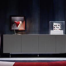 Diana studio delightfull delightfull table diana red nickel luminaire lighting design signed 25636 thumb