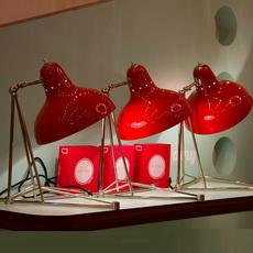 Diana studio delightfull delightfull table diana red nickel luminaire lighting design signed 25638 thumb