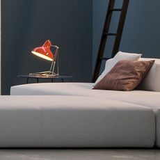 Diana studio delightfull delightfull table diana red nickel luminaire lighting design signed 25639 thumb