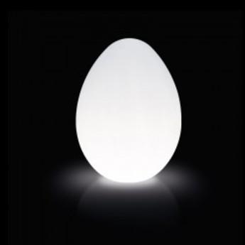 Lampe a poser dino blanc h120cm slide normal