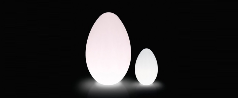 Lampe a poser dino blanc h160cm slide normal