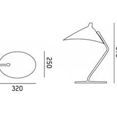 Dino studio gong lampe a poser table lamp  gong gc 001 b  design signed nedgis 77739 thumb