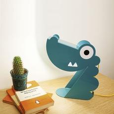 Table lamp, Dinosaure, turquoise, L24cm, H22cm Bleu Carmin