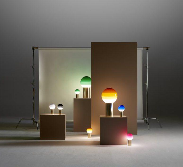 Dipping light jordi canudas lampe a poser table lamp  marset a691 007  design signed 53094 product
