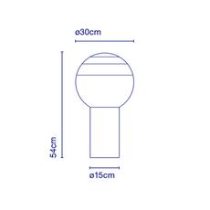 Dipping light jordi canudas lampe a poser table lamp  marset a691 007  design signed 53095 thumb