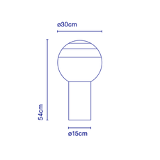 Dipping light jordi canudas lampe a poser table lamp  marset a691 012  design signed 53082 thumb