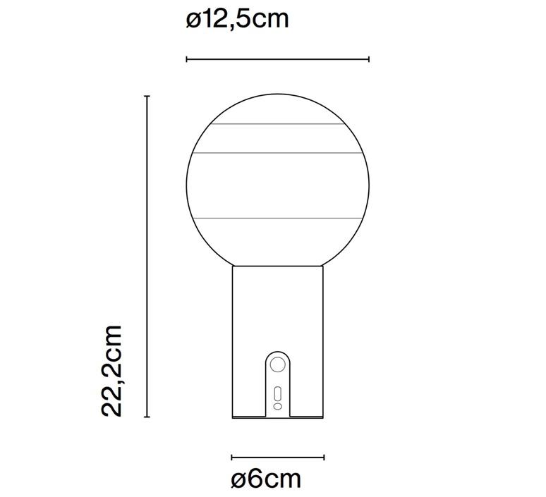 Dipping light portable jordi canudas lampe a poser table lamp  marset a691 091   design signed nedgis 84094 product