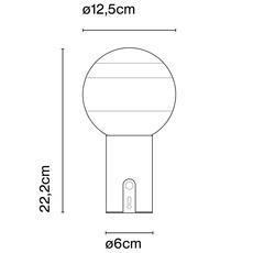 Dipping light portable jordi canudas lampe a poser table lamp  marset a691 089   design signed nedgis 84072 thumb