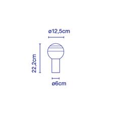 Dipping light jordi canudas lampe a poser table lamp  marset a691 005  design signed 53072 thumb