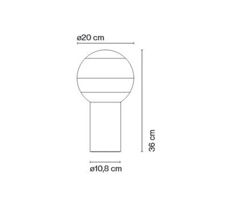 Dipping light s jordi canudas lampe a poser table lamp  marset a691 070  design signed nedgis 68373 product