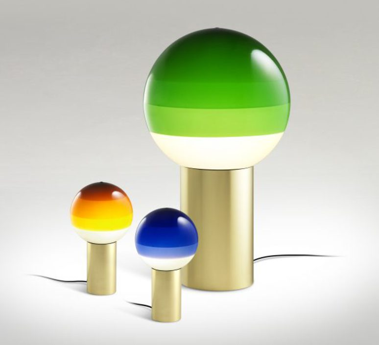 Dipping light jordi canudas lampe a poser table lamp  marset a691 009  design signed 53088 product