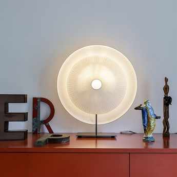 Lampe a poser diva blanc h71cm l62cm celine wright normal