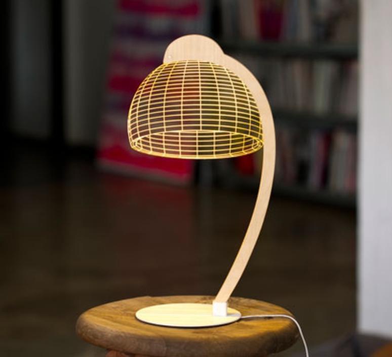 LAMPE À POSER, DOME, LED, H42CM - STUDIO CHEHA