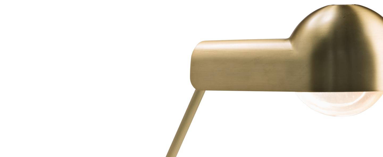 Lampe a poser domo table laiton o52 5cm h39 6cm karakter normal