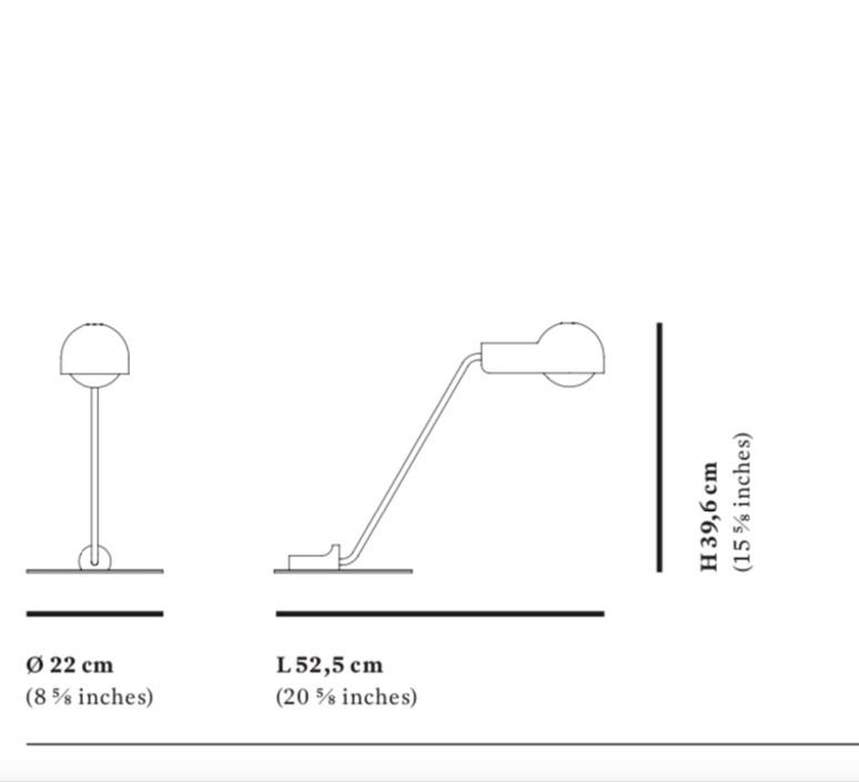 Domo table joe colombo lampe a poser table lamp  karakter 201501  design signed nedgis 89688 product