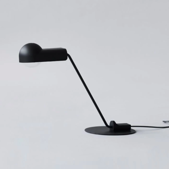 Lampe a poser domo table noir o52 5cm h39 6cm karakter normal