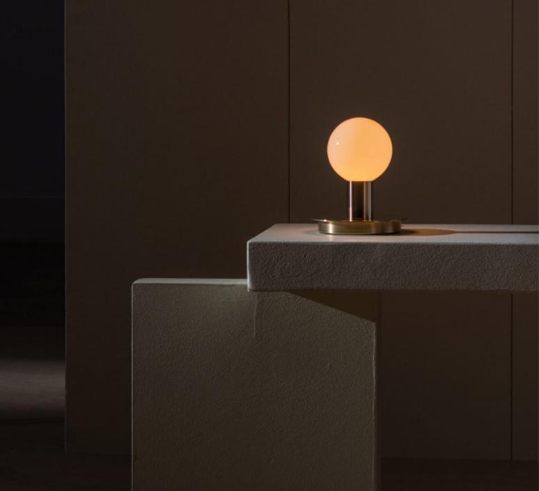 Dot 04 studio lambert fils lampe a poser table lamp  lambert fils dot04brbk  design signed nedgis 124695 product