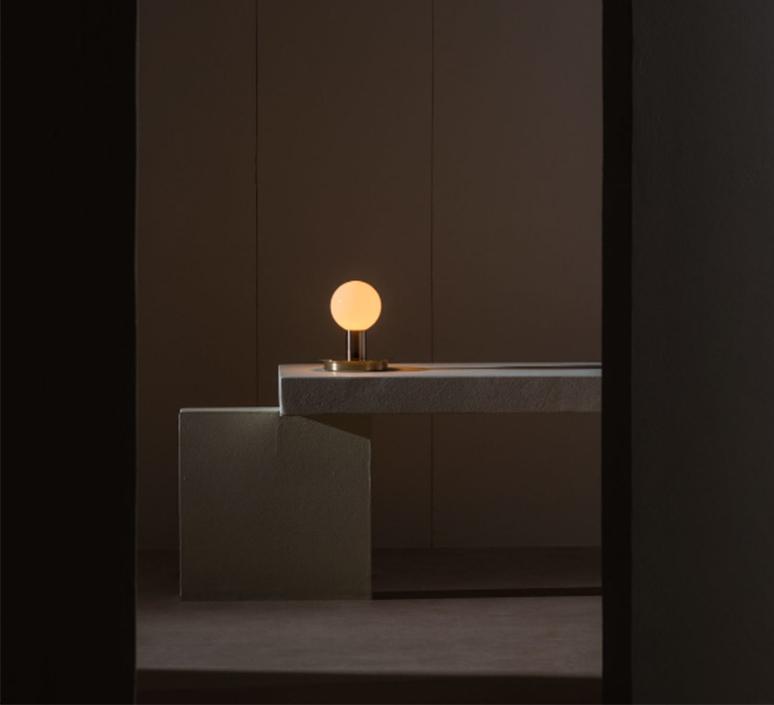 Dot 04 studio lambert fils lampe a poser table lamp  lambert fils dot04brbk  design signed nedgis 124696 product
