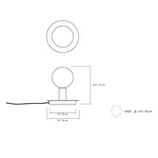 Dot 04 studio lambert fils lampe a poser table lamp  lambert fils dot04brbk  design signed nedgis 124699 thumb