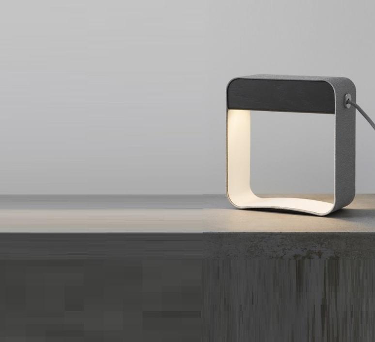Lampe 224 Poser Eau De Lumi 232 Re Led Gris Blanc Ch 234 Ne