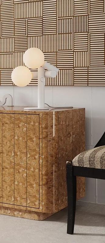 Lampe a poser echo table lamp blanc o34cm h42cm tala normal