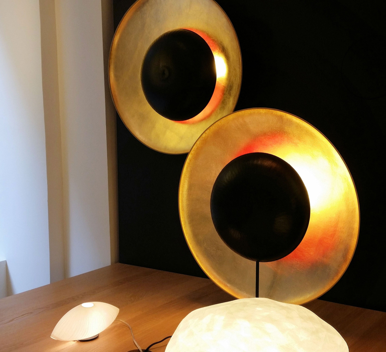 Eclipse celine wright lampe a poser table lamp  celine wright 100 eclipse aposer  design signed 60774 product