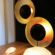 Eclipse celine wright lampe a poser table lamp  celine wright 100 eclipse aposer  design signed 60774 thumb