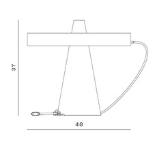 Ed039 edizioni design lampe a poser table lamp  edizioni ed039 03  design signed nedgis 63717 thumb