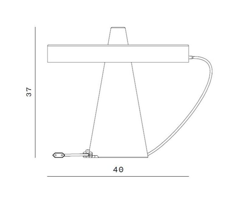 Ed039 edizioni design lampe a poser table lamp  edizioni ed039 02  design signed nedgis 63719 product