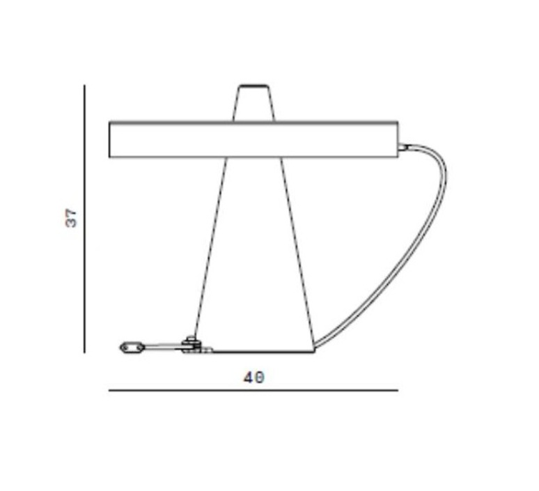 Ed039 edizioni design lampe a poser table lamp  edizioni ed039 01  design signed nedgis 63678 product