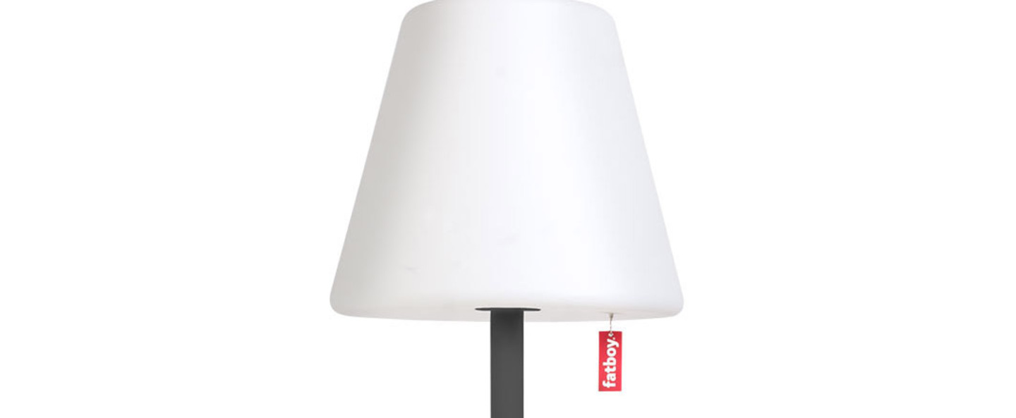 Lampe a poser edison the giant anthracite led o58cm h182cm fatboy normal